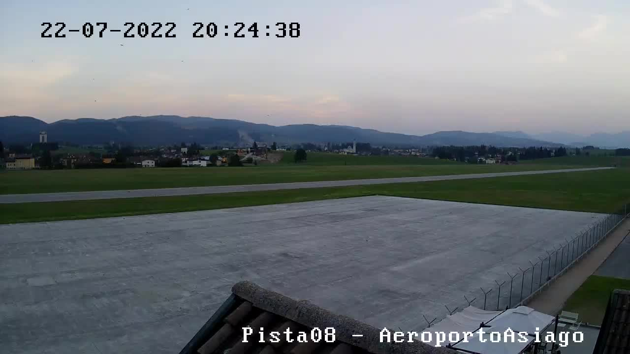 Aeroporto Romeo Sartori di Asiago - Lida (fine pista)
