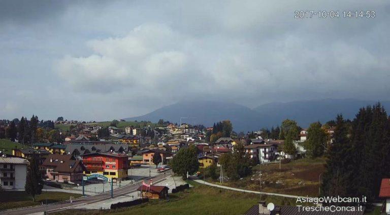 """Webcam Treschè Conca – Benvenuti nell'Altopiano strada del """"Costo"""" – Live Asiago SetteComuni"""